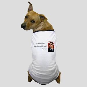 Ronald Reagan 17 Dog T-Shirt