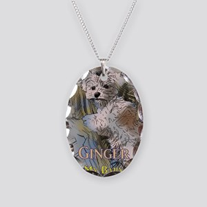 Ginger My Baby Necklace Oval Charm
