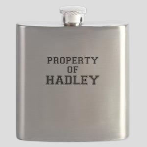 Property of HADLEY Flask