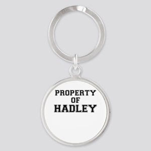 Property of HADLEY Keychains