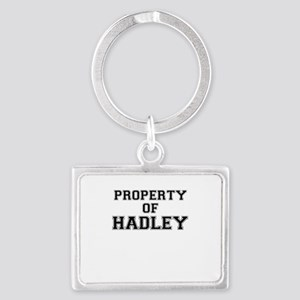 Property of HADLEY Keychains