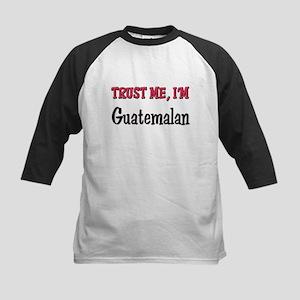 Trusty Me I'm Guatemalan Kids Baseball Jersey