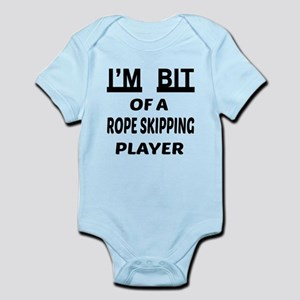 I'm bit of a Rope Skipping player Infant Bodysuit