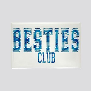 Besties Club Rectangle Magnet