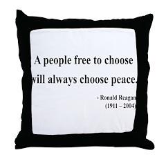 Ronald Reagan 19 Throw Pillow