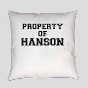Property of HANSON Everyday Pillow