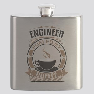 Engineer Fueled By Coffee Flask