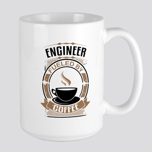 Engineer Fueled By Coffee Mugs