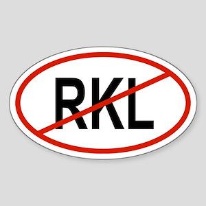 RKL Oval Sticker
