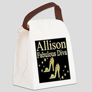 TRENDY DIVA Canvas Lunch Bag