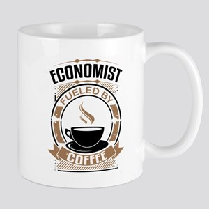 Economist Fueled By Coffee Mugs
