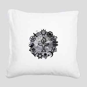 Unitarian 6 Square Canvas Pillow