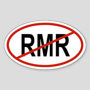 RMR Oval Sticker