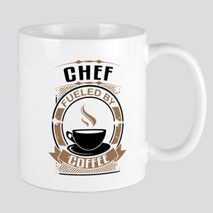 Chef Fueled By Coffee Mugs