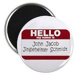 Jingleheimer Schmidt 2.25