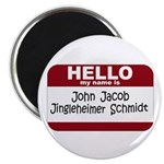 Jingleheimer Schmidt Magnet