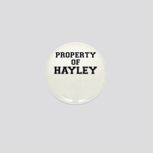 Property of HAYLEY Mini Button