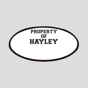 Property of HAYLEY Patch