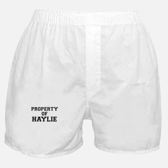Property of HAYLIE Boxer Shorts