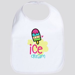 Ice Cream Desserts Baby Bib