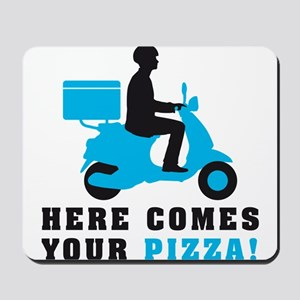 Scooter Pizza Supplier 07-2016 Mousepad