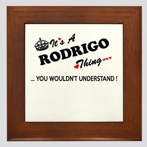 RODRIGO thing, you wouldn't understand Framed Tile