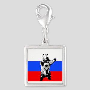 Russian Football Flag Charms