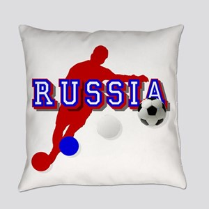 Russia Soccer Player Everyday Pillow