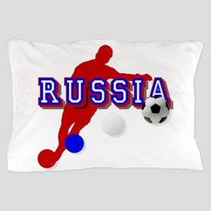 Russia Soccer Player Pillow Case