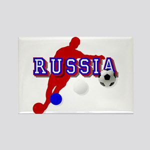 Russia Soccer Player Magnets