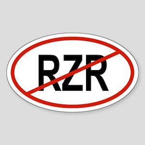 RZR Oval Sticker