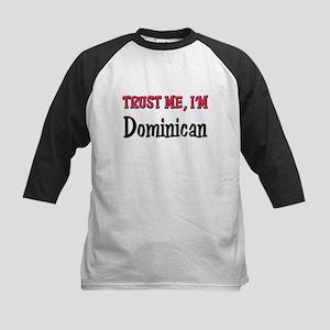 Trusty Me I'm Dominican Kids Baseball Jersey
