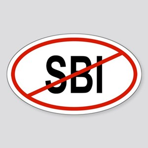SBI Oval Sticker