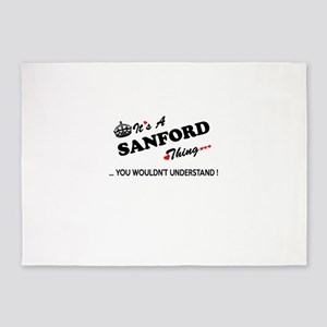 SANFORD thing, you wouldn't underst 5'x7'Area Rug