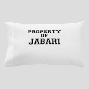 Property of JABARI Pillow Case