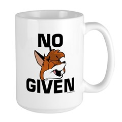 """No Foxx Given"" Boomhut 15oz Mugs"