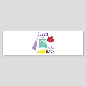 Sale Rack Bumper Sticker