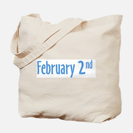 February 2nd groundhog Day Tote Bag