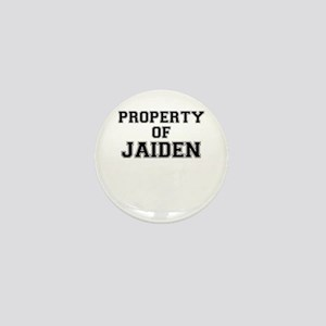 Property of JAIDEN Mini Button