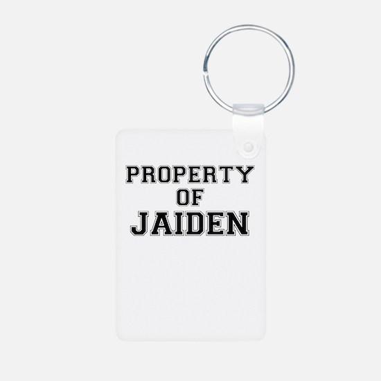 Property of JAIDEN Keychains