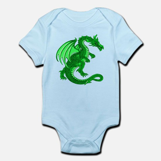 Green Dragon Infant Creeper