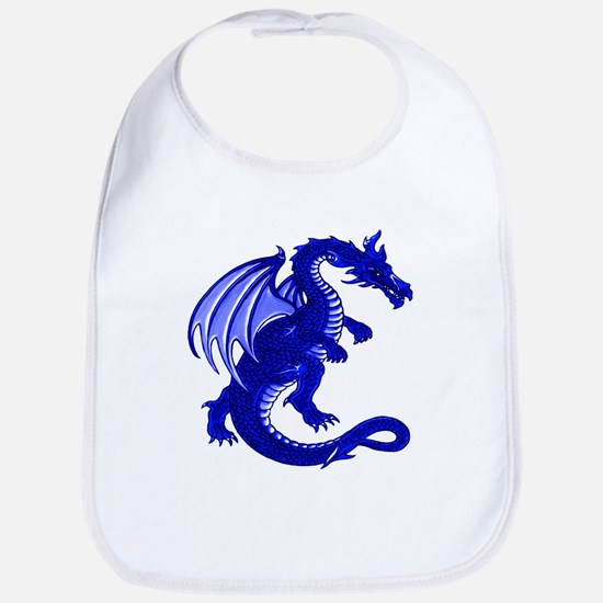 Blue Dragon Bib