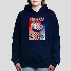Croatian Football Women's Hooded Sweatshirt