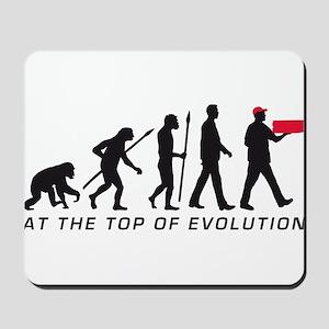 Evolution Supplier Pizza Service supplier Mousepad
