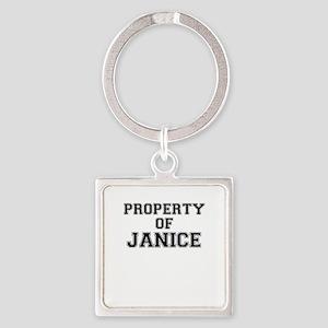 Property of JANICE Keychains