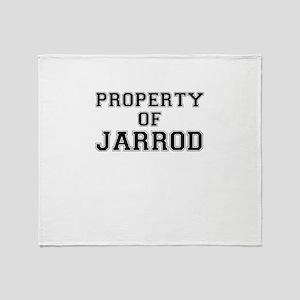 Property of JARROD Throw Blanket