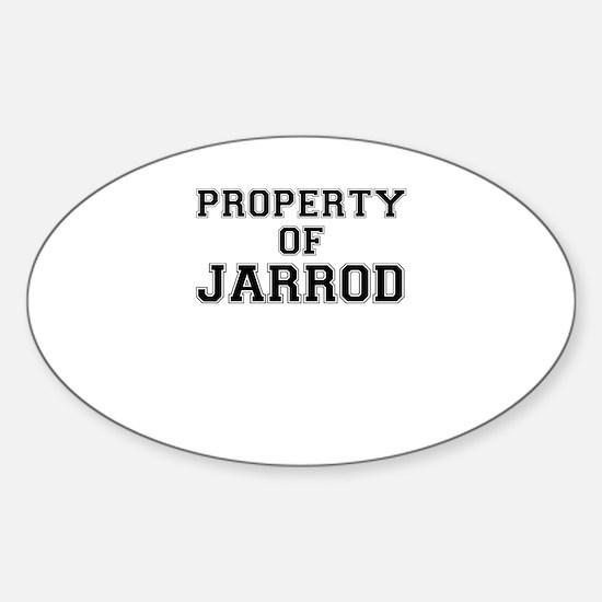 Property of JARROD Decal