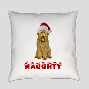 Naughty Goldendoodle Everyday Pillow