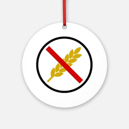 Gluten Free Round Ornament