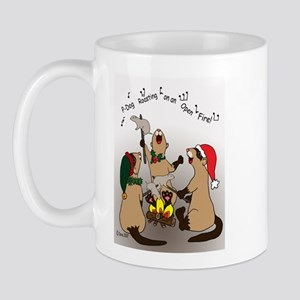 Black-Footed Ferret Holiday Mug